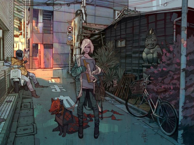 Las ilustraciones de Jakub Rebelka 3