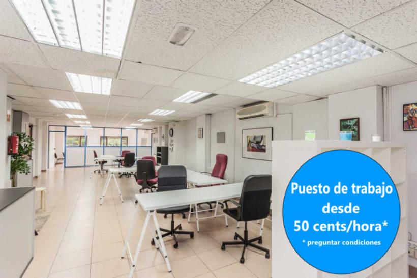 Coworking en Madrid (Av. América) desde 50 céntimos/hora  1