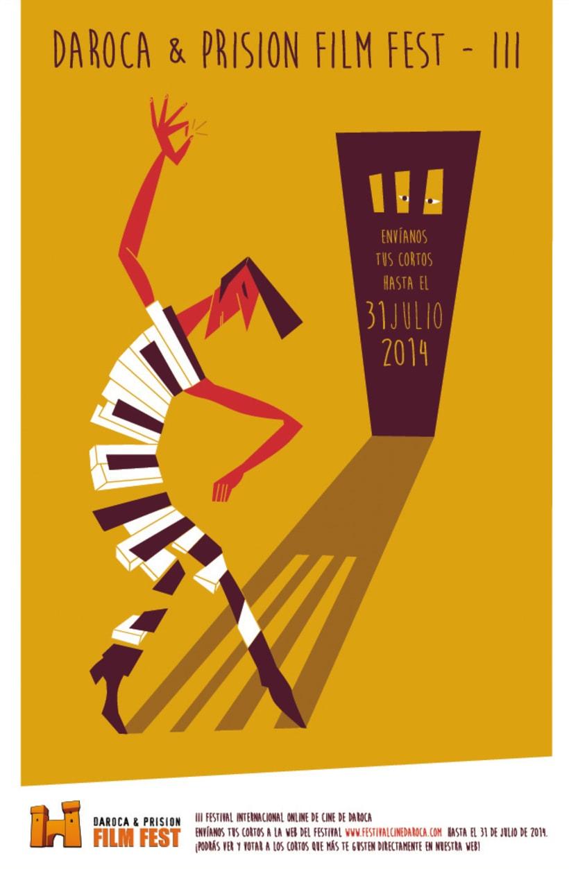Cartel Daroca & Prision Film Fest III -1
