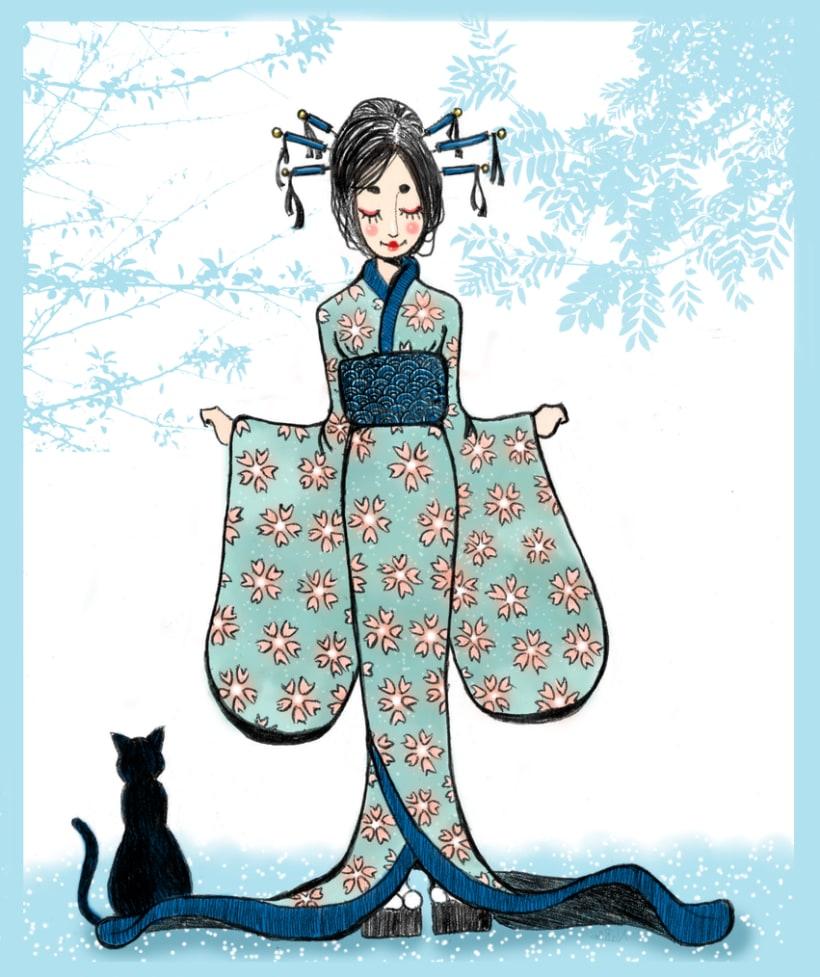Ilustración ( Fuiu & Natsu) -1