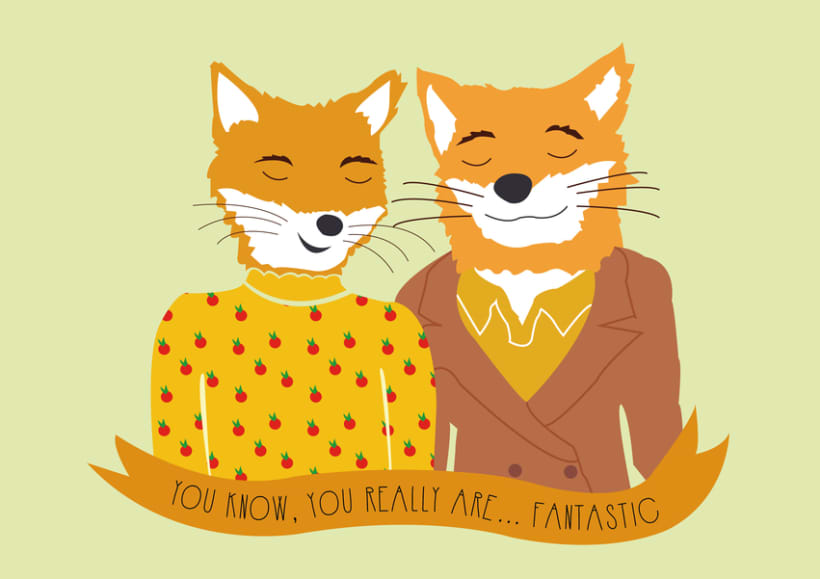 Ilustración Fantastic Mr Fox 0