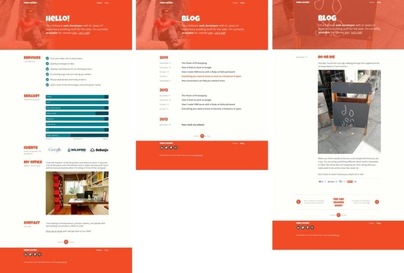 Mi Proyecto del curso Diseño web: Be Responsive! 1