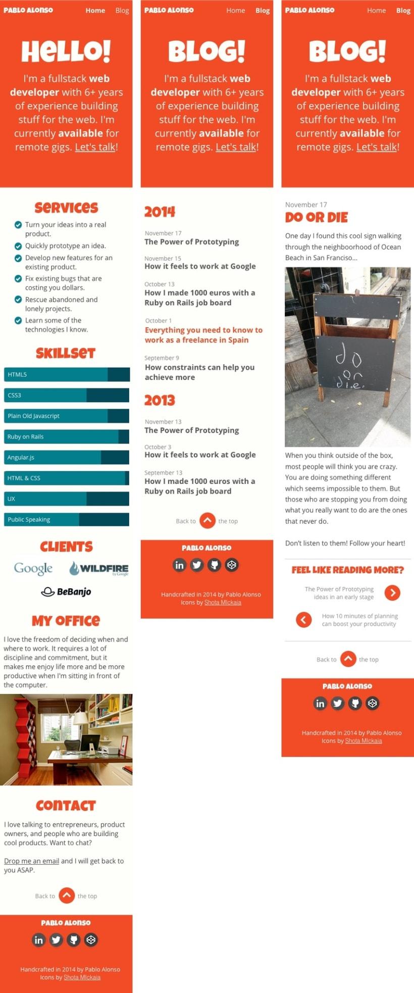 Mi Proyecto del curso Diseño web: Be Responsive! 5