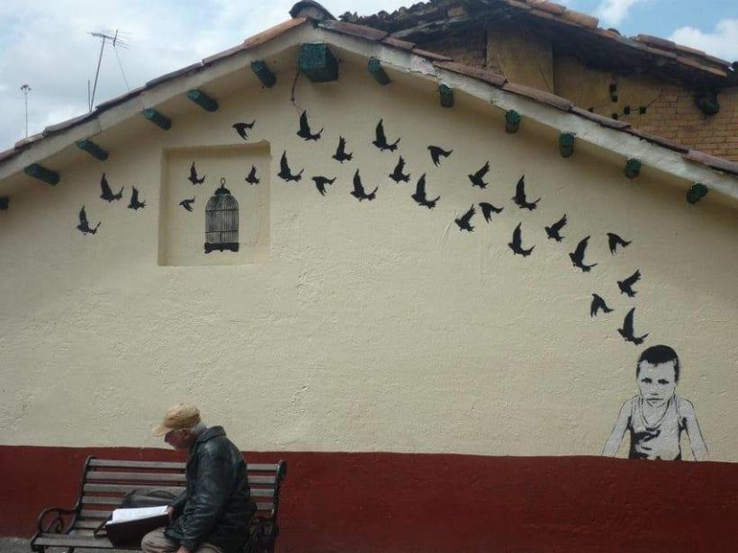 Fotografías de Grafitti del centro de Bogotá -1