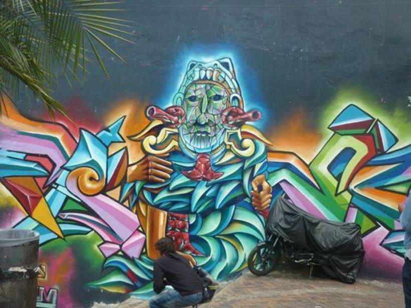 Fotografías de Grafitti del centro de Bogotá 0