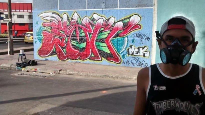 Fotografías de Grafitti del centro de Bogotá 2