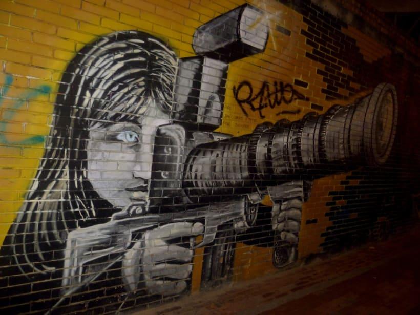 Fotografías de Grafitti del centro de Bogotá 7