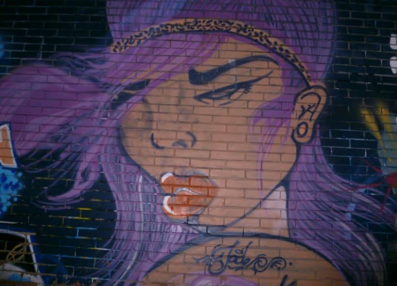 Fotografías de Grafitti del centro de Bogotá 8