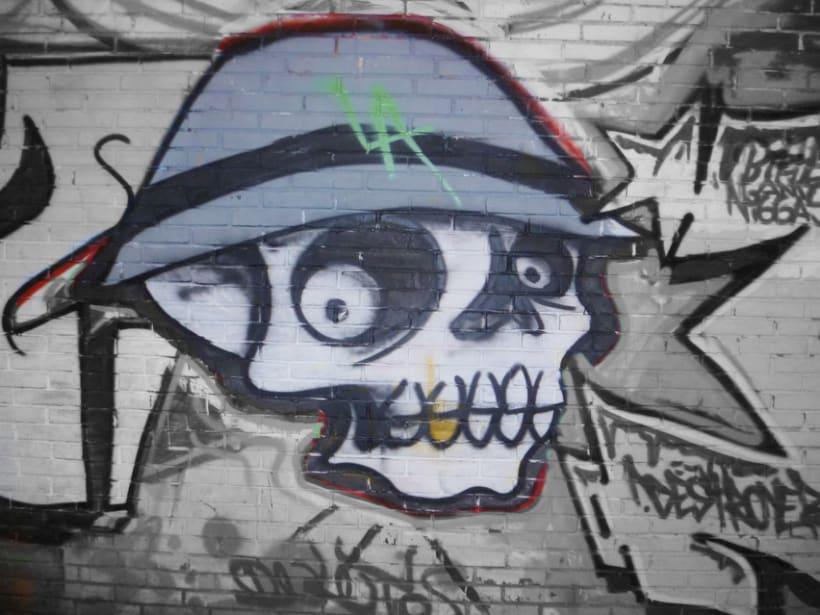 Fotografías de Grafitti del centro de Bogotá 9