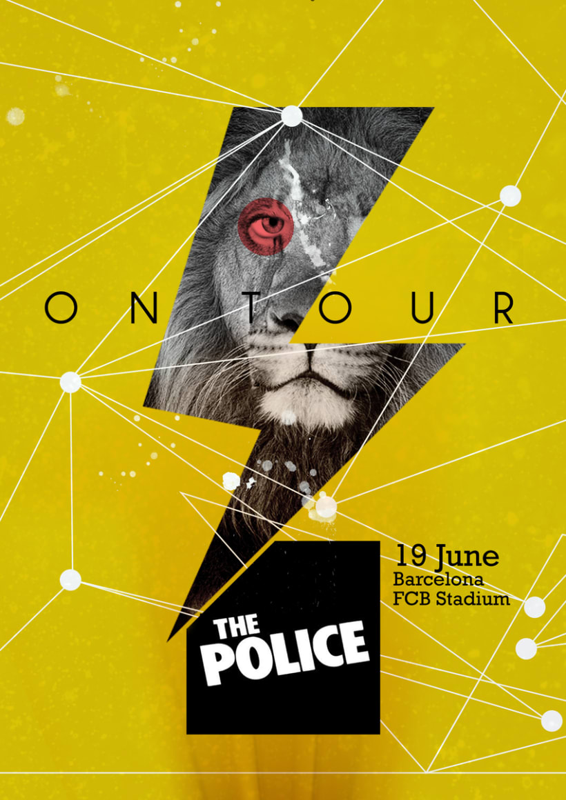 "Poster ""The Police"" -1"