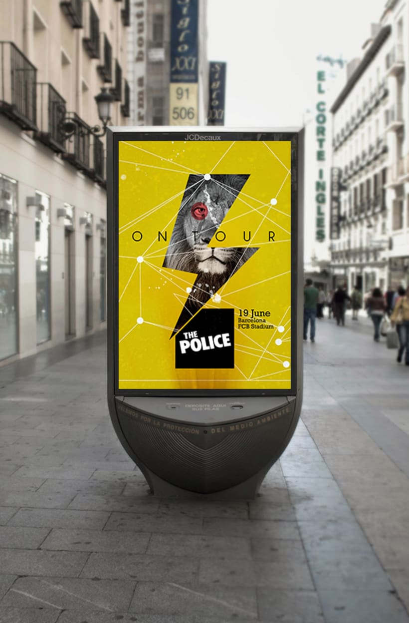"Poster ""The Police"" 1"
