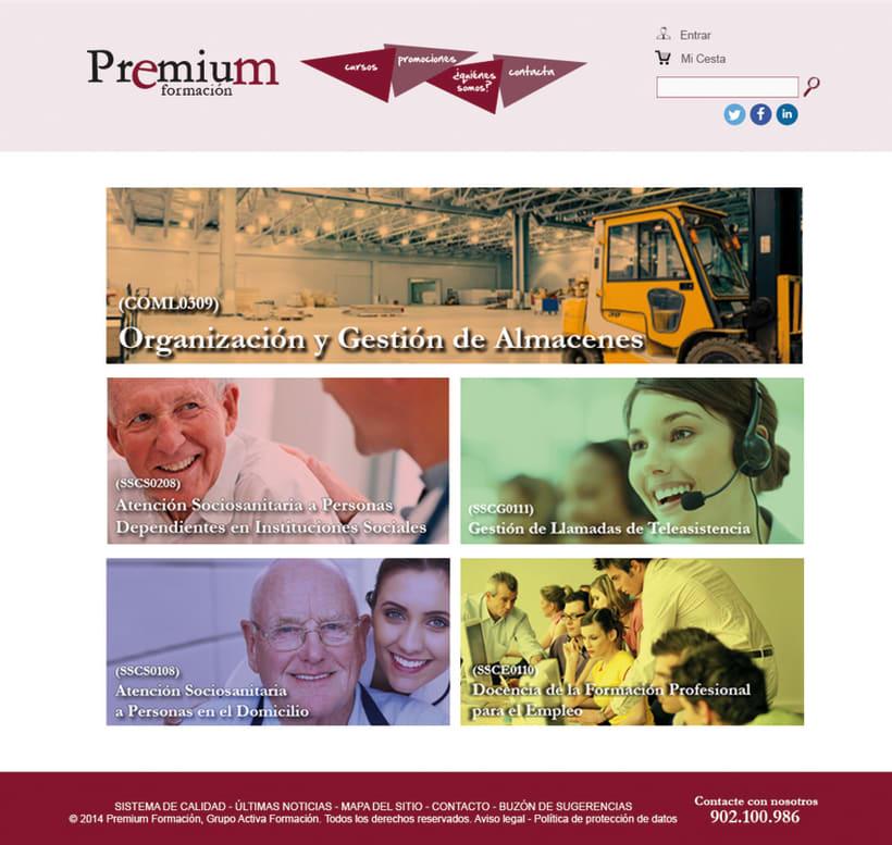 Diseño Web - Premium Formación 0