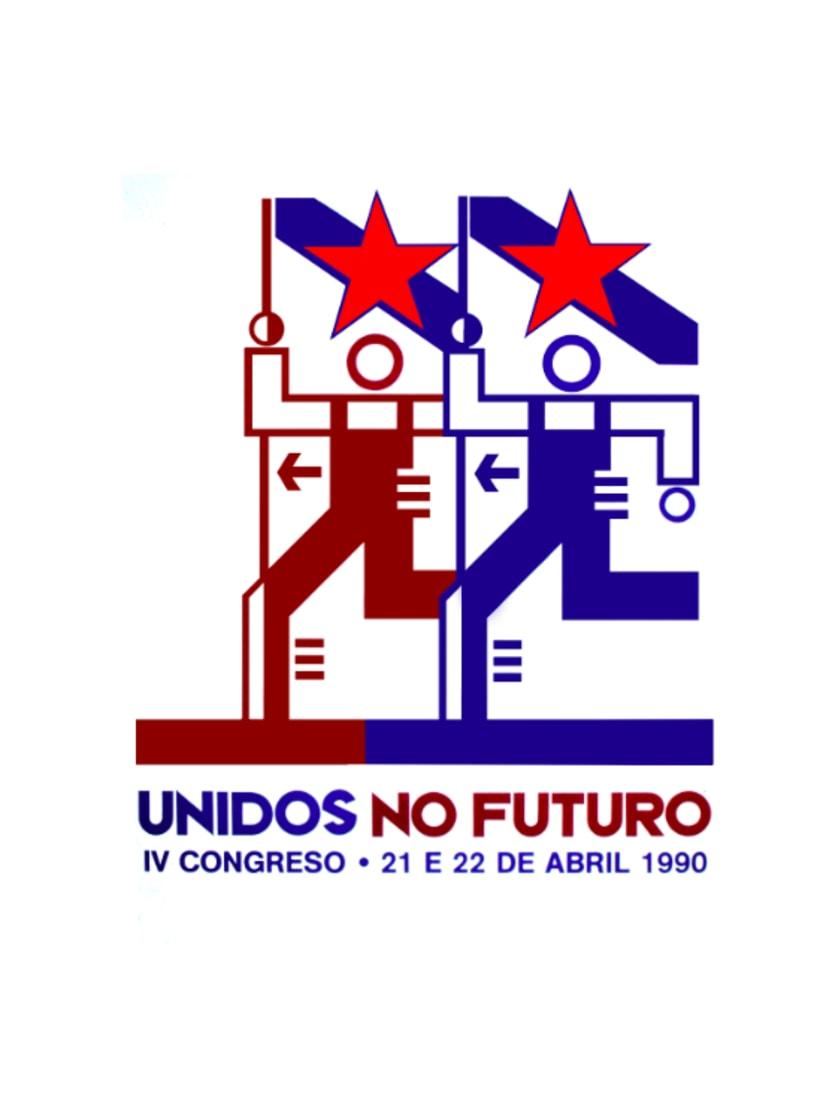 Sindicato nacionalista INTG, marca e gráfica IV Congreso 2