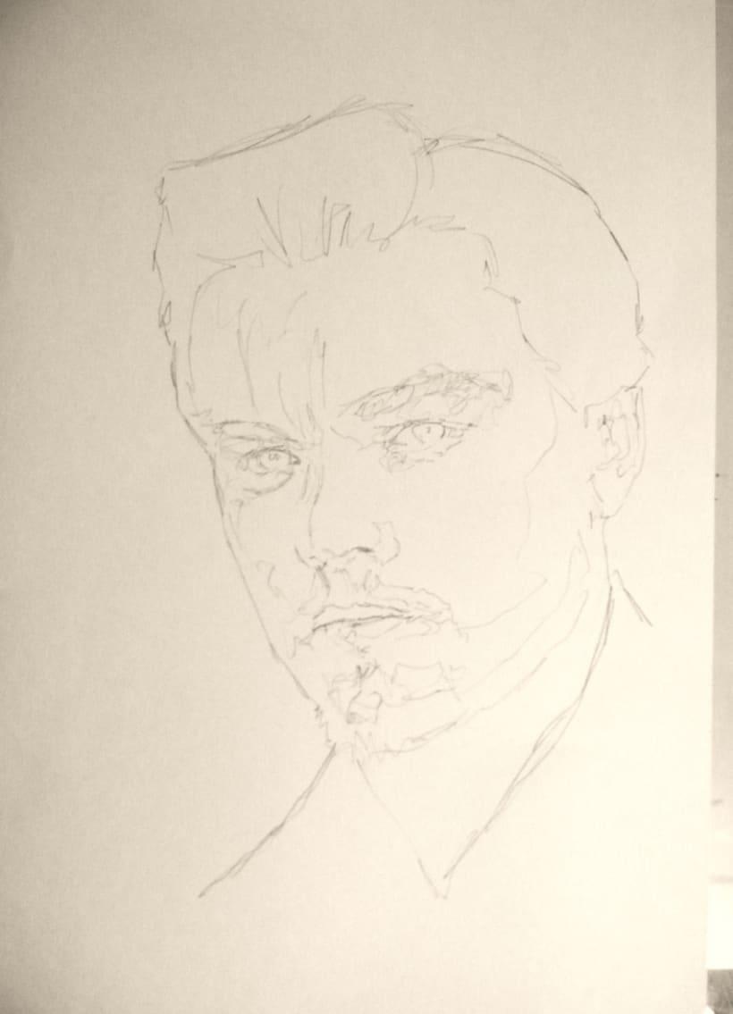 Portrait of Leonardo DiCaprio 0