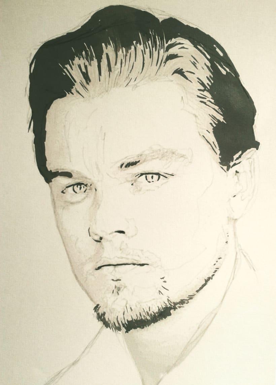 Portrait of Leonardo DiCaprio 3