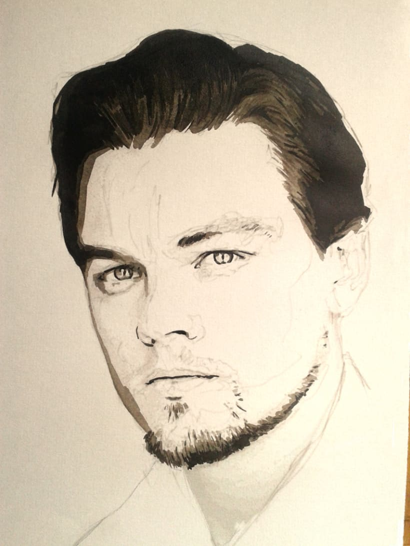 Portrait of Leonardo DiCaprio 5