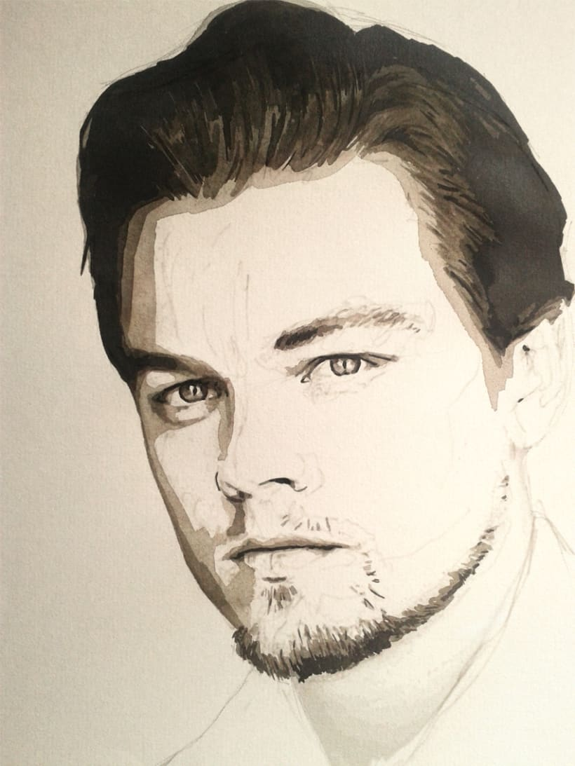 Portrait of Leonardo DiCaprio 6