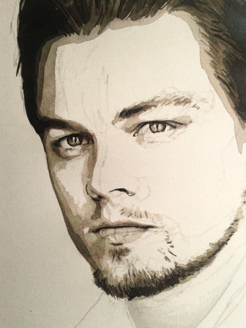 Portrait of Leonardo DiCaprio 7