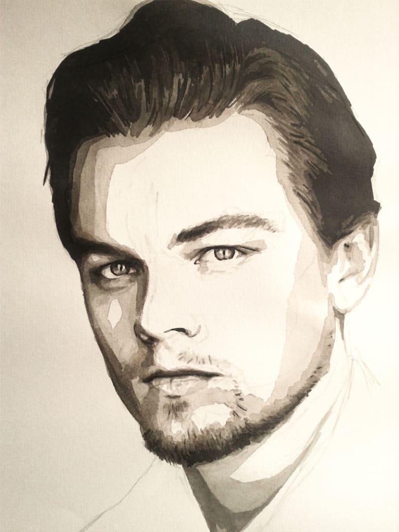 Portrait of Leonardo DiCaprio 8