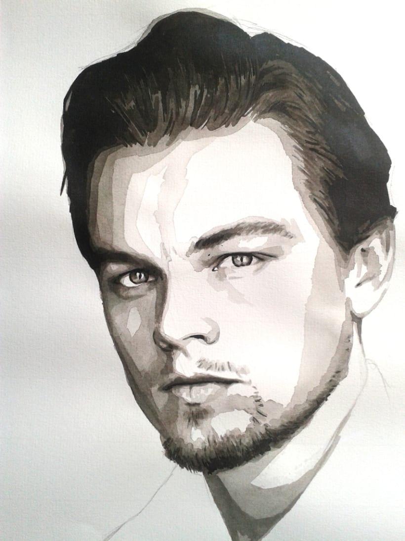 Portrait of Leonardo DiCaprio 9