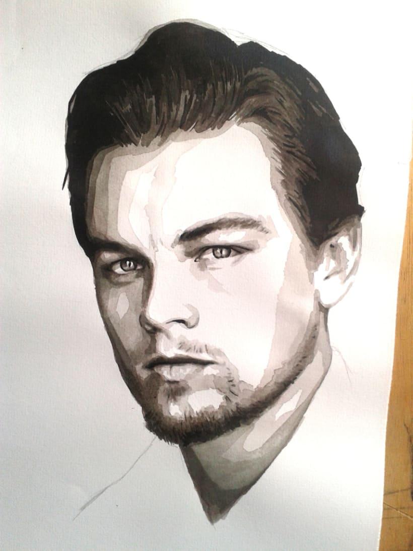 Portrait of Leonardo DiCaprio 10