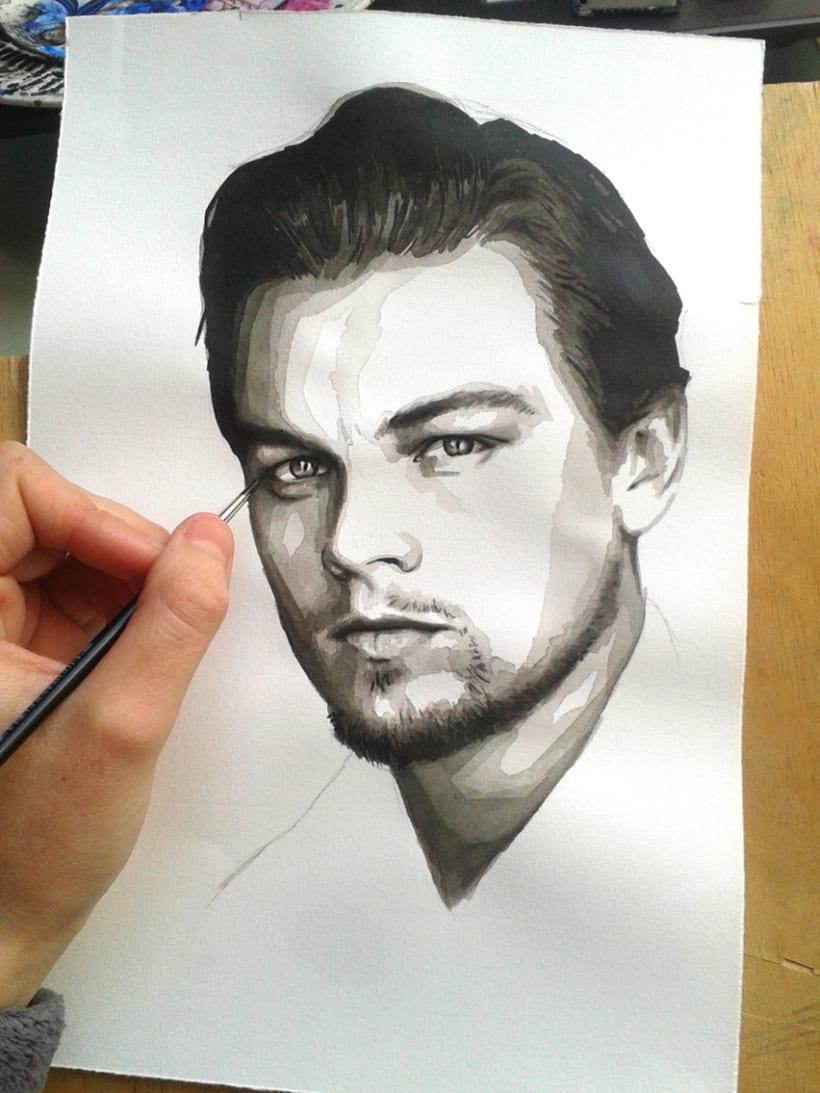 Portrait of Leonardo DiCaprio 12