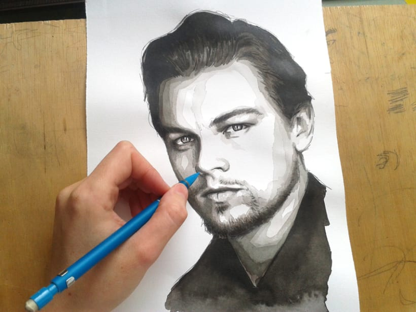 Portrait of Leonardo DiCaprio 14