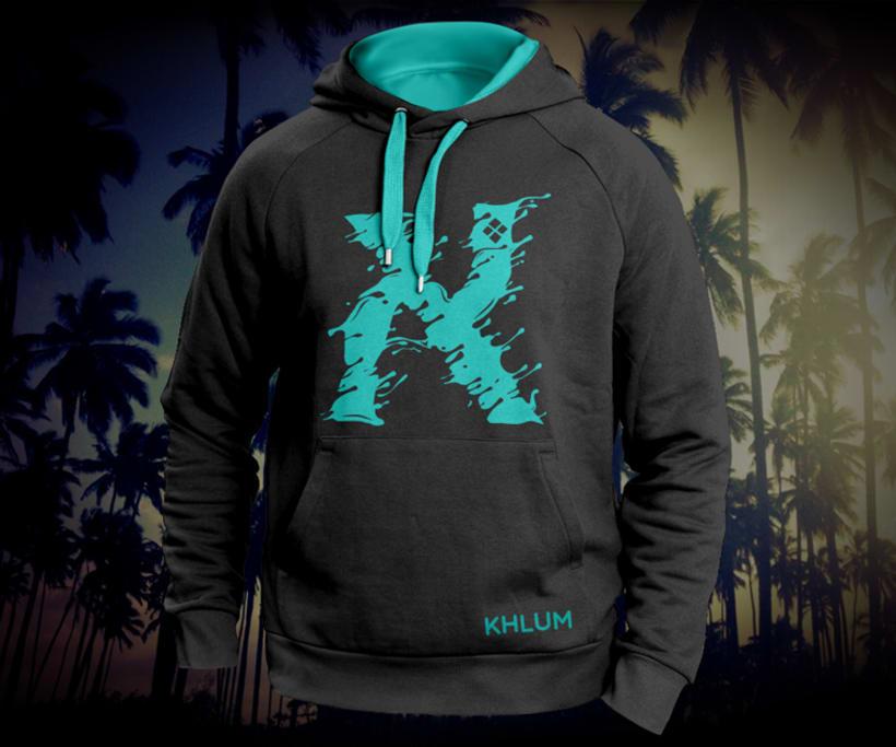 KHLUM® clothes  Fluid hoodie -1