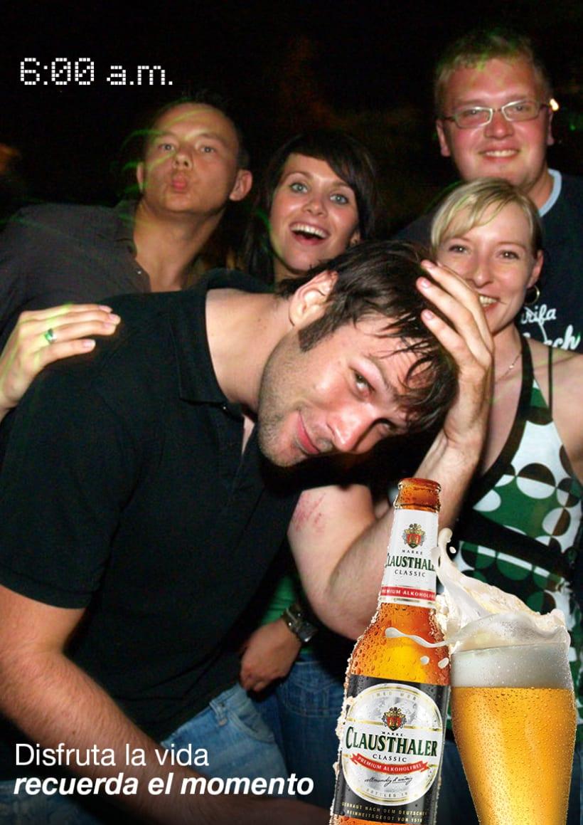 Cerveza Clausthaler sin alcohol 2
