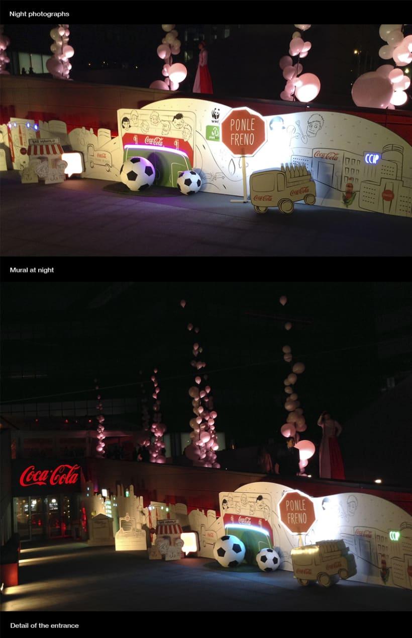50 metros para Coca-Cola 2