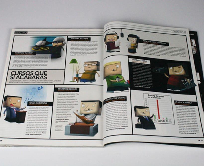 Ilustraciones Revistas DT -1