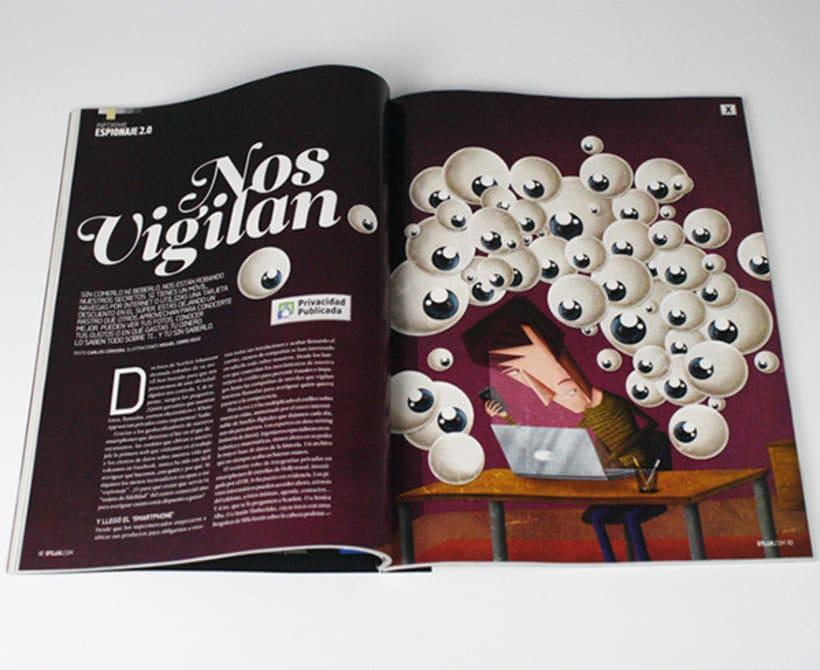 Ilustraciones Revistas DT 0