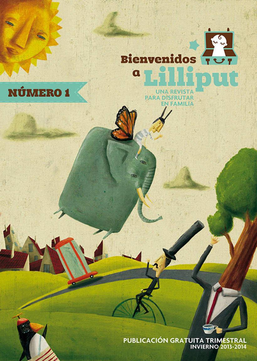 Revista Bienvenido a Lilliput. 0