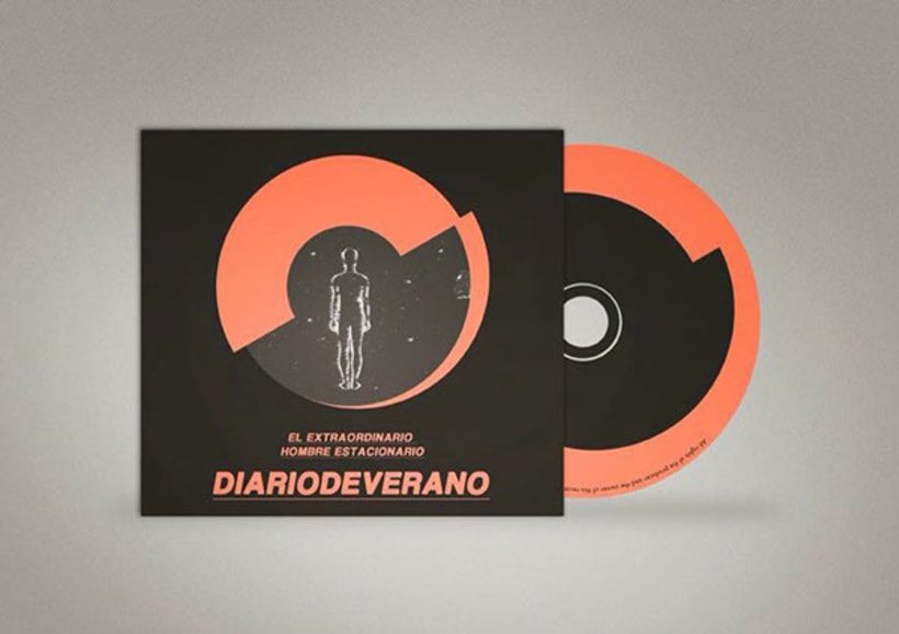 diariodeverano // branding + cd packaging  1