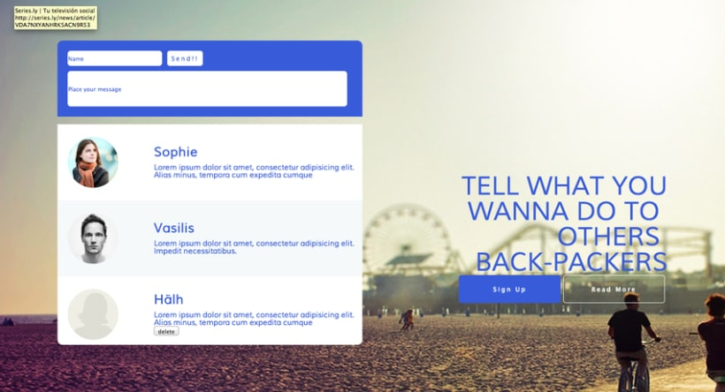 Web Design - Baggers 2