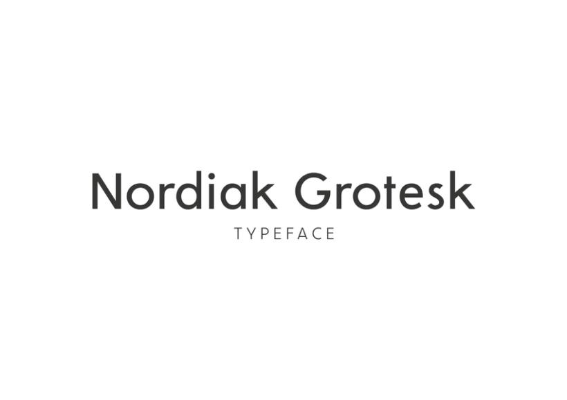 Nordiak Grotesk, nueva tipografía 1