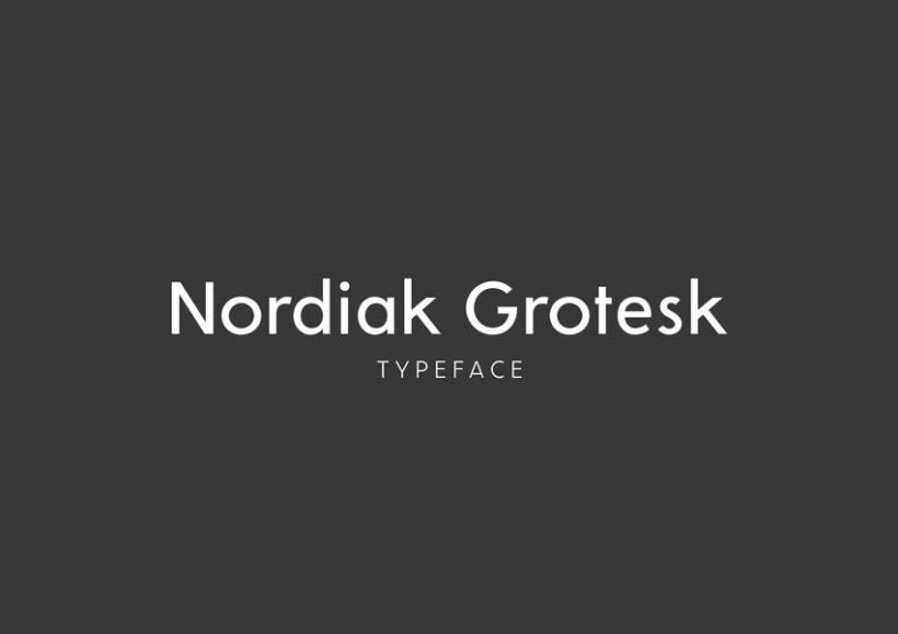 Nordiak Grotesk 0