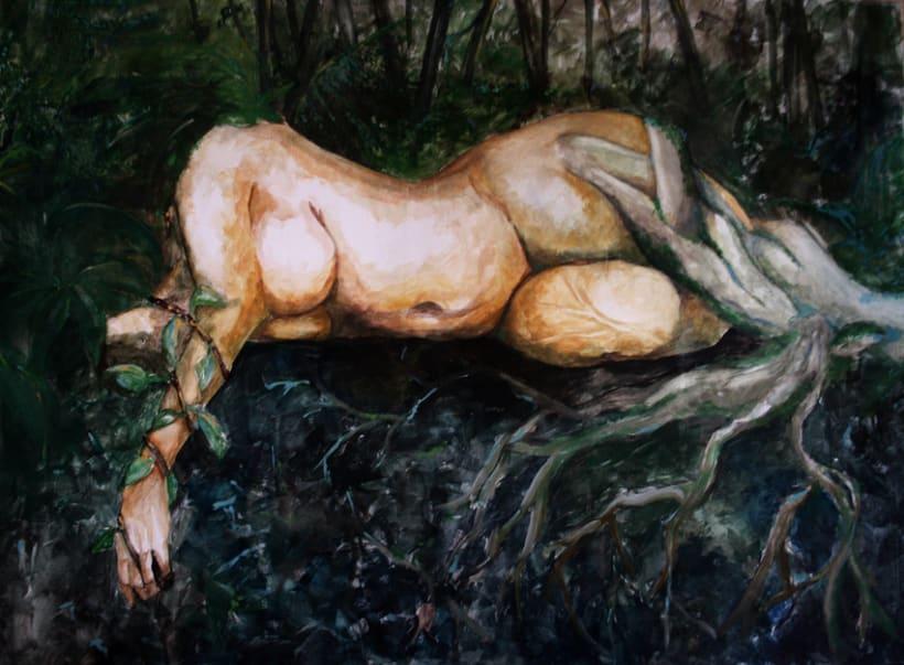 Mujer árbol -1
