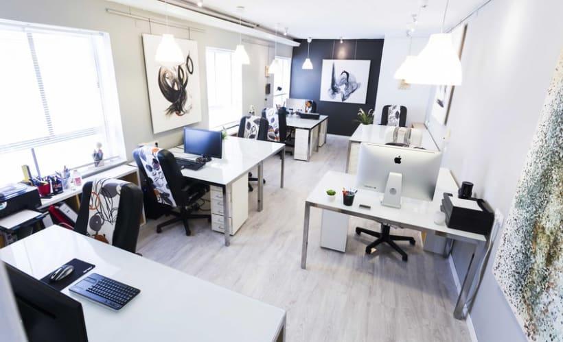 Oficina compartida en Madrid 1