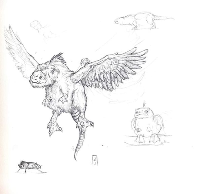 Diseño de criaturas 2