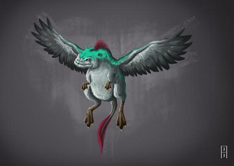 Diseño de criaturas 3