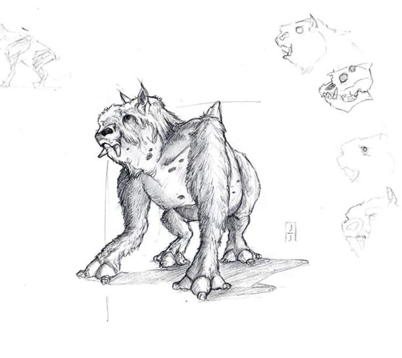 Diseño de criaturas 7