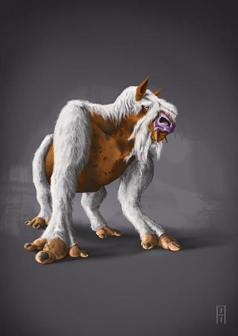 Diseño de criaturas 8