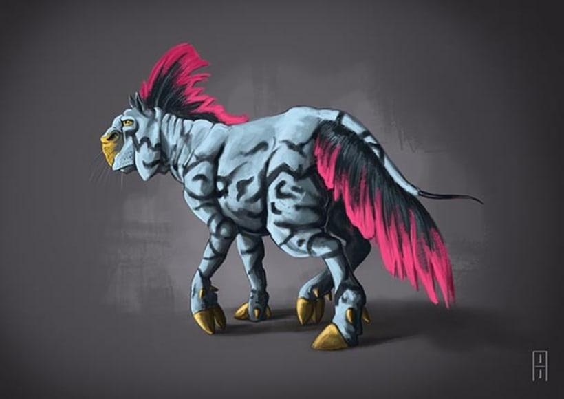 Diseño de criaturas 10