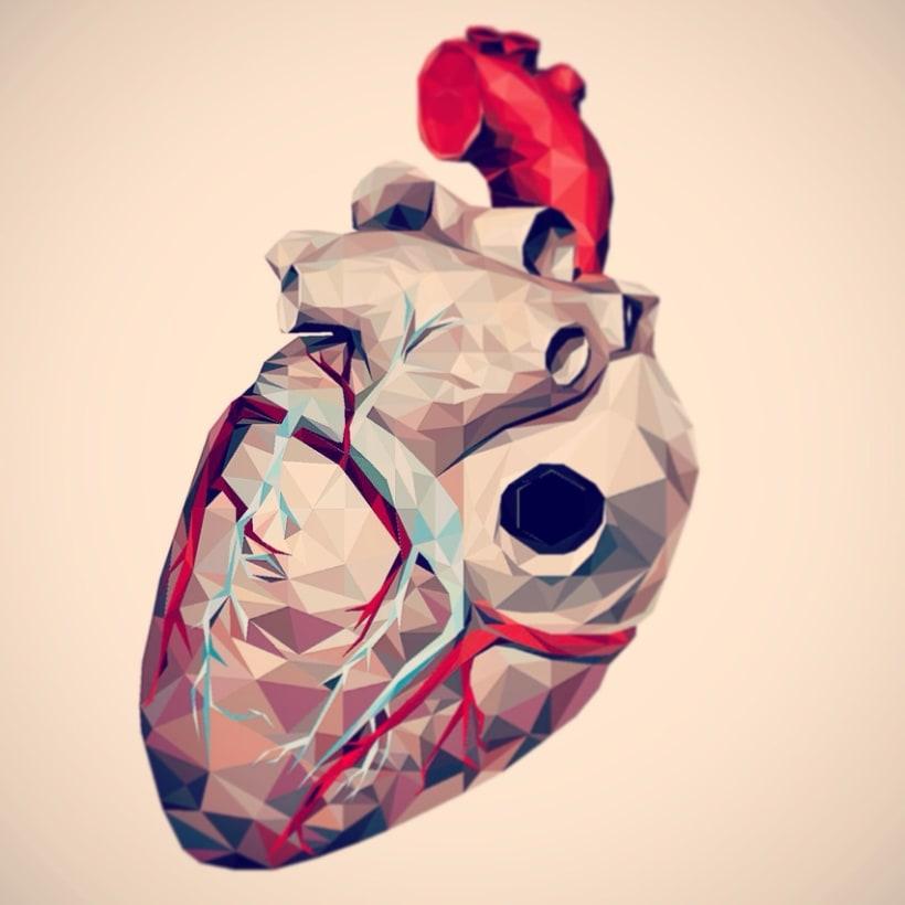 Geometric Heart 5