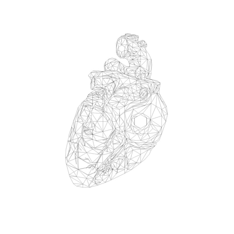Geometric Heart 4