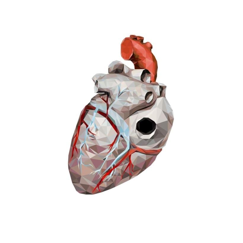 Geometric Heart 2