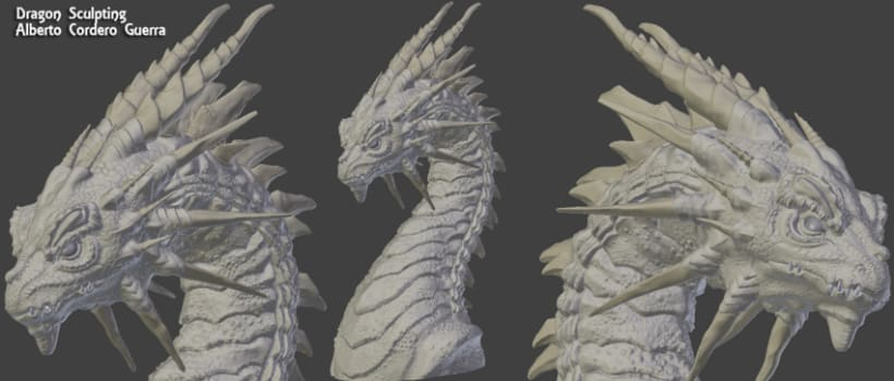 Dragon Sculpt -1