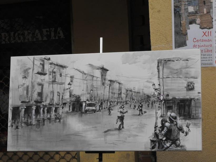 Alcalá de Henares,Certamen de pintura rápida. Premio Votación Popular. 0
