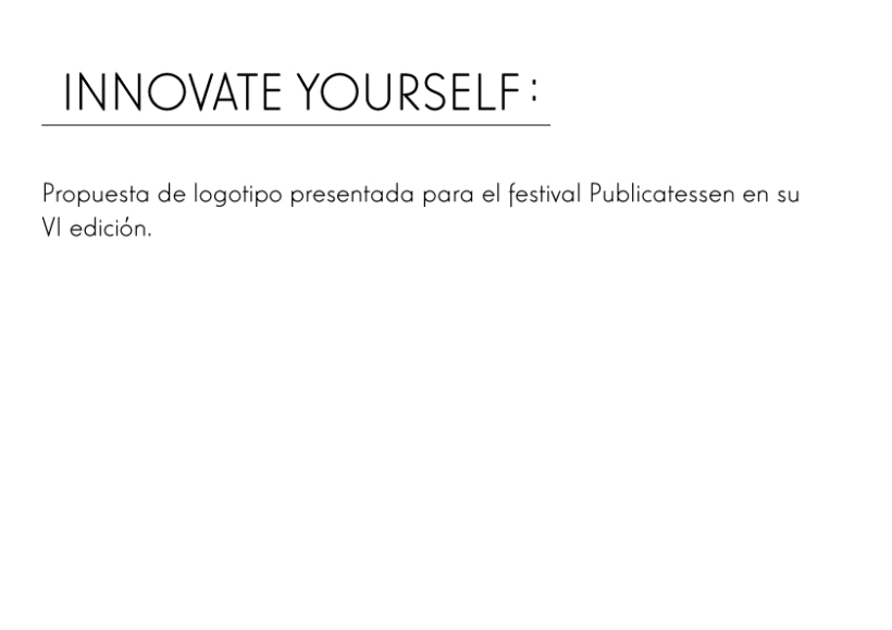 Innovate yourself -1